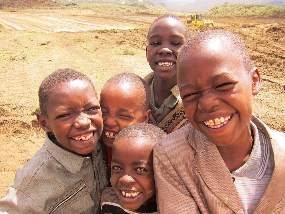 アフリカの子供達