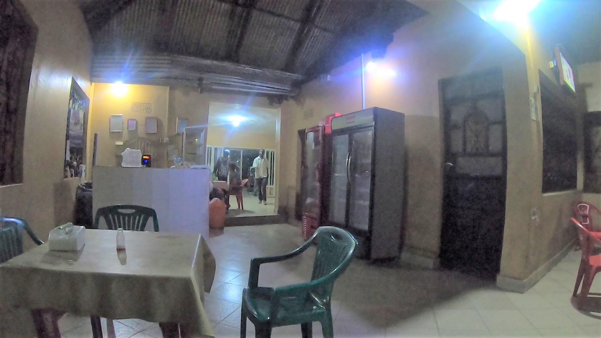 アフリカのレストラン