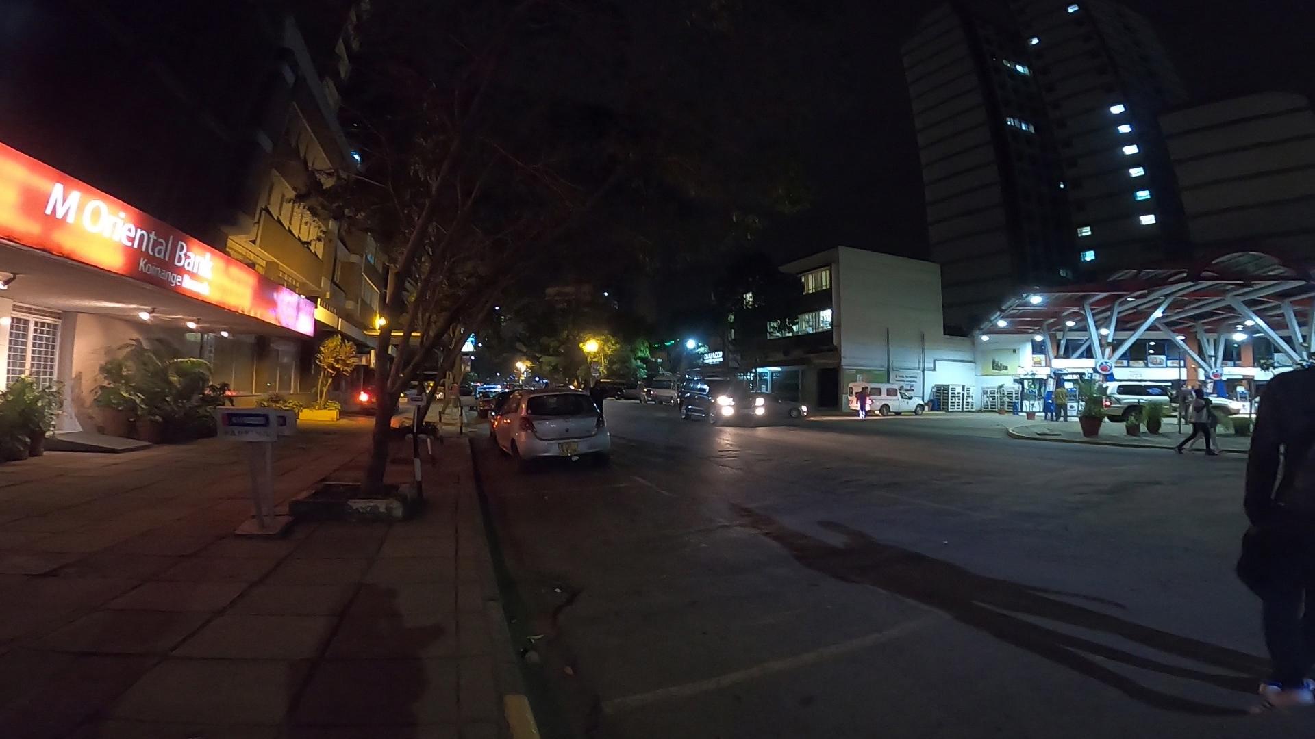 ナイロビの夜