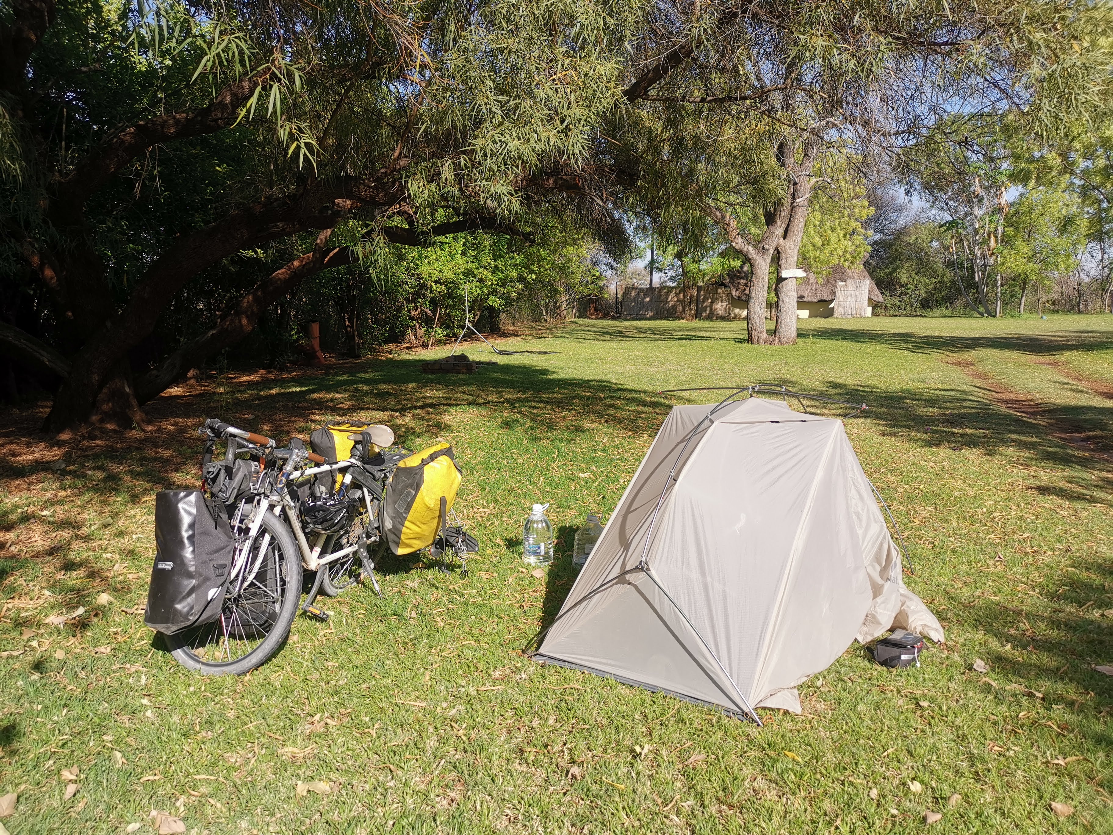 一泊したキャンプ場